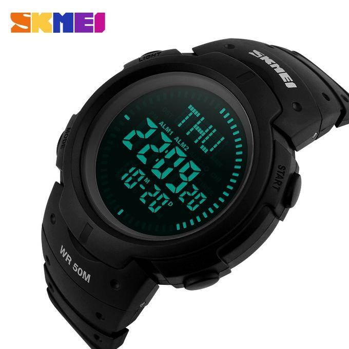 8e8bdfbc6 SKMEI Outdoor Chronograph Compass Watch Men Multifunction Waterproof LED  Electronic Digital Sports Watches Fashion Wristwatches