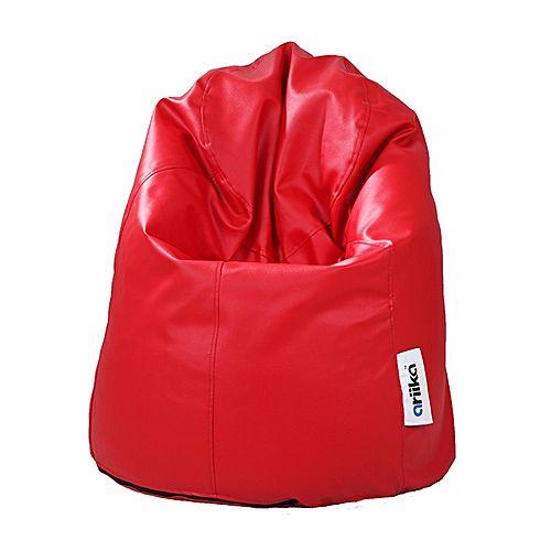 The Pumpkin Leather Bean Bag
