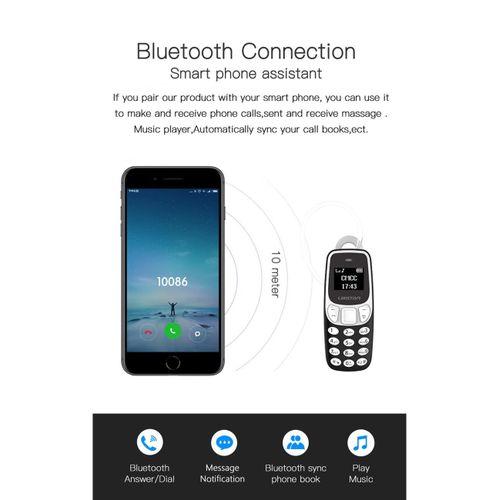 Bm90 Mini Mobile - BLACK