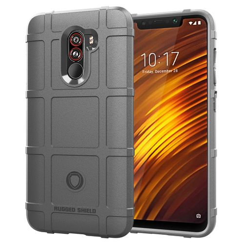 new products f5130 c894c Full Coverage Shockproof TPU Case For Xiaomi Pocophone F1 (Grey)