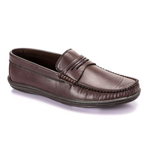 حذاء سهل الارتداء - بني داكن