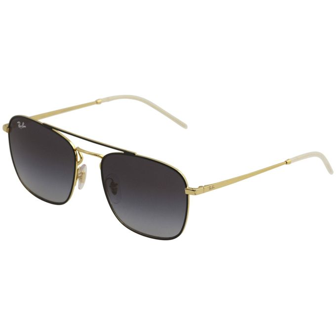 718624f8fd6c Sale on Ray-Ban Square Metal Black Gold Frame