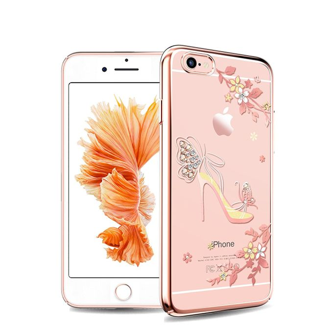 finest selection 2849d 7c921 iPhone 6 Case with Swarovski Crystal - Rose Gold
