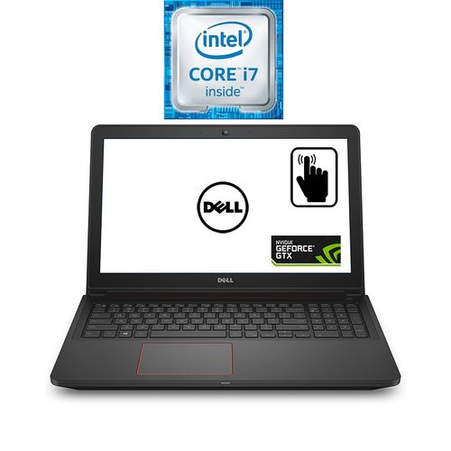 Inspiron 15-7559 Laptop - Intel Core I7 - 16GB RAM - 1TB HDD + 256GB SSD -  4GB GPU - 15 6