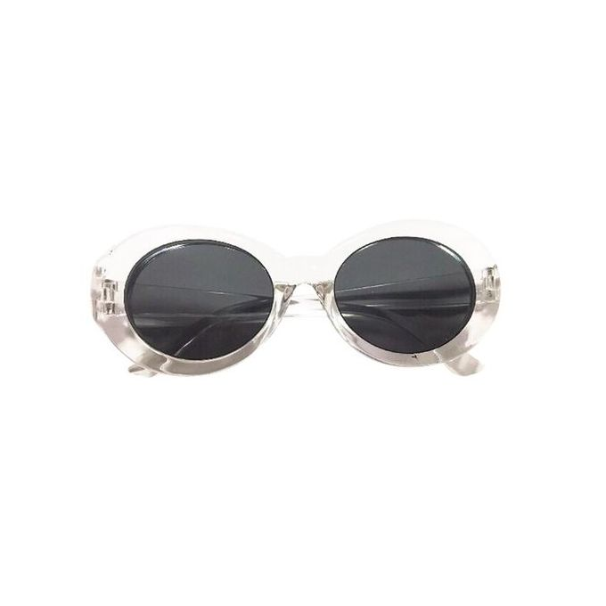 62e8127dc5826 Retro Clout Goggles Unisex Sunglasses Rapper Oval Shades Grunge Glasses  Clothing