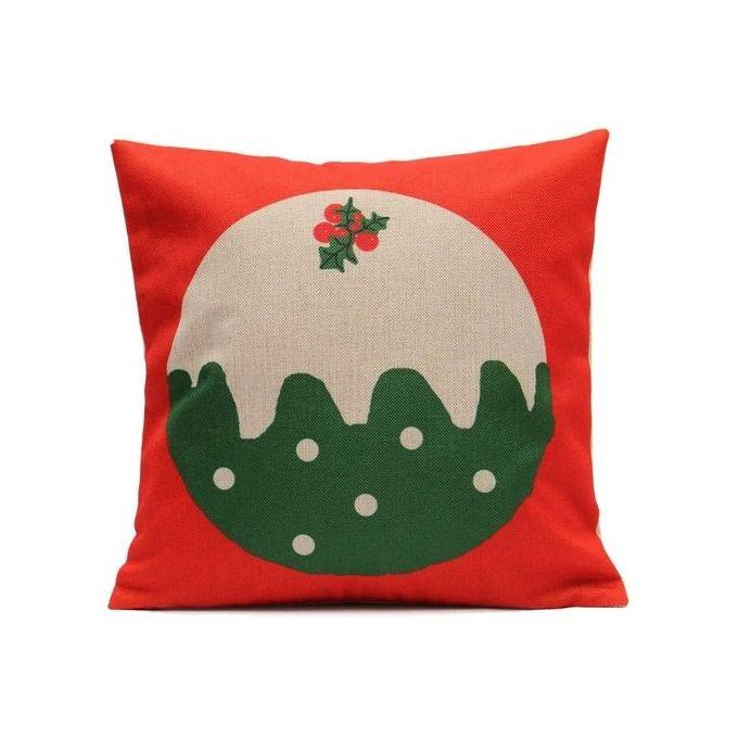 Merry Christmas Series Cushion Cover Printing Throw Pillow Pillowcase 45X45cm –  مصر