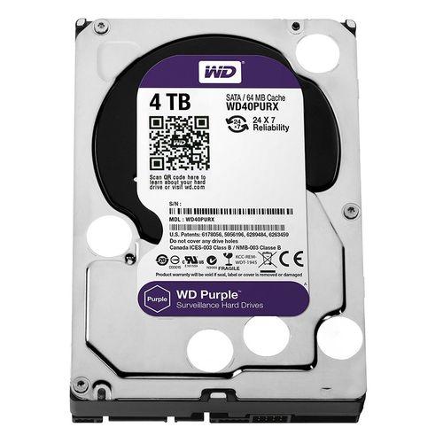 WD40PURX - 4TB WD Purple Surveillance 3 5