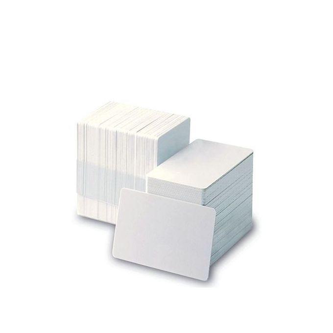 بطاقات بلاستيك بيضاء للطباعة – عبوة 2500 بطاقة –  مصر