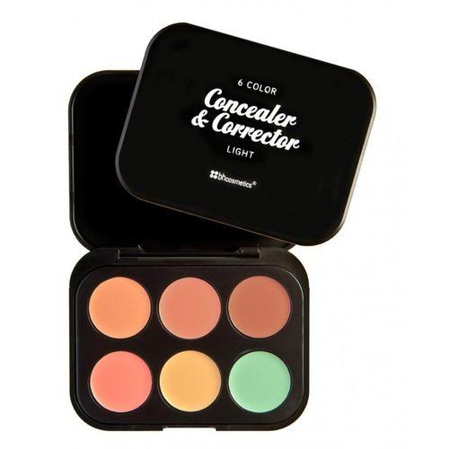 Concealer Corrector Palette 6 Colors Light