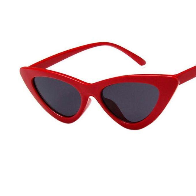 b6e5fef2e4 New Stuff Retro Triangle Cat Eye Sunglasses UV400 Clean Vision Glasses  Eyewear Valentine s Day Gift Lenses