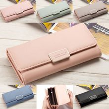 c8b2c26e7e8fb Women  039 s Wallets Three Fold Wallets Fashion Ladies Handbag - Light Pink