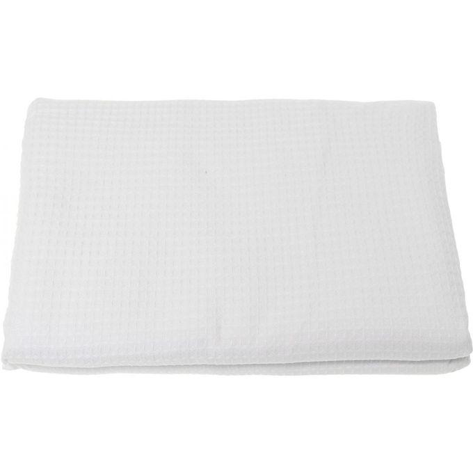 1010 Double Bedspread – 260X240 cm – White –  مصر