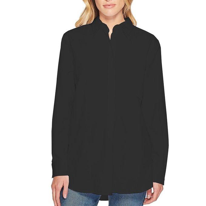 eae606fd Jumia Anniversary Deal! Sale on Shirt Collar Long Sleeves Plain ...