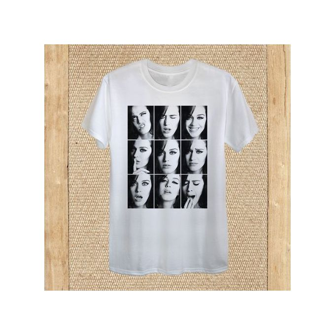 Katy Perry Men's T-Shirt Design Faces Pop Diva Superstar Celebrity