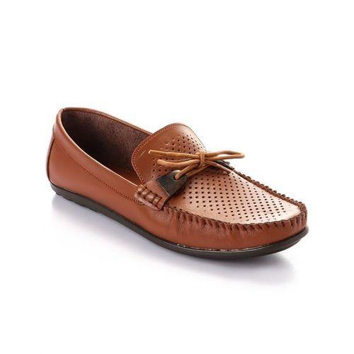 Elegant Decorated Genuine Leather Men Shoes - Havan