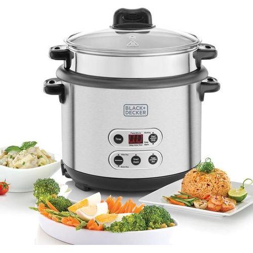 RPC1800حلة طهي الأرز - 1.8 لتر -فضي