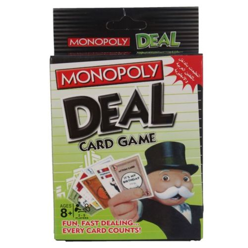 Monopoly Deal Cards - 2-5 Players