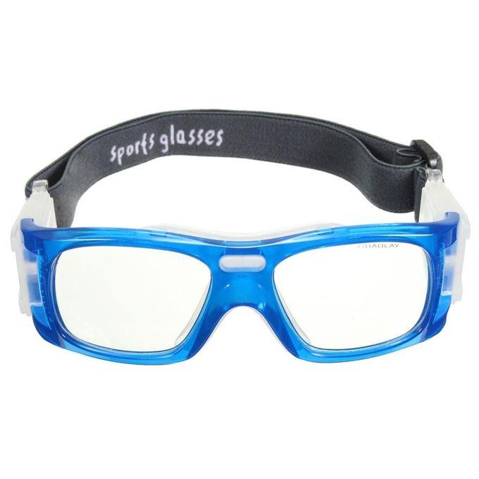 a6b1cc5479 Basketball Soccer Football Sports Glasses Protective Eyewear Bike Eye  Goggles Em Blue