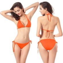 e5e6f4214e Fovibery Women Bandage Bikini Set Push-up Bra Swimsuit Bathing Suit Swimwear