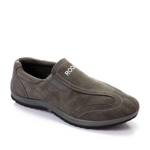 حذاء رجالي شمواه اللون (رمادي) مريح