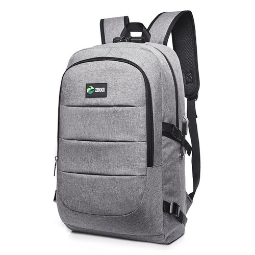 d4fd8d8dcd Generic Laptop Backpack Travel Anti-theft Bag Rucksack With USB Charging  Port Coded Lock
