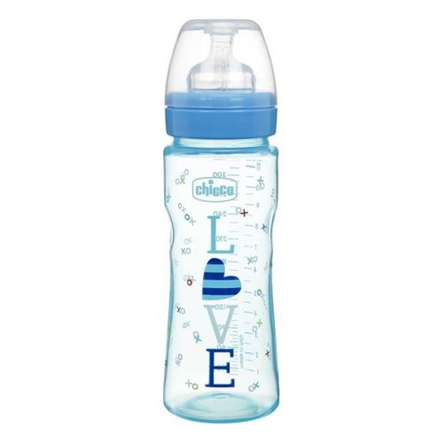 09e6d98a8 Well-Being Silicone Feeding Bottle - 330ml - (4+M) - Colored - Boys