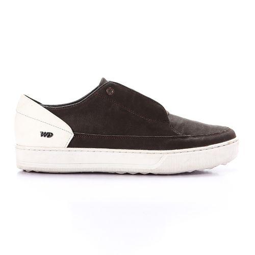 Lace Up Plain Shoes - Brown