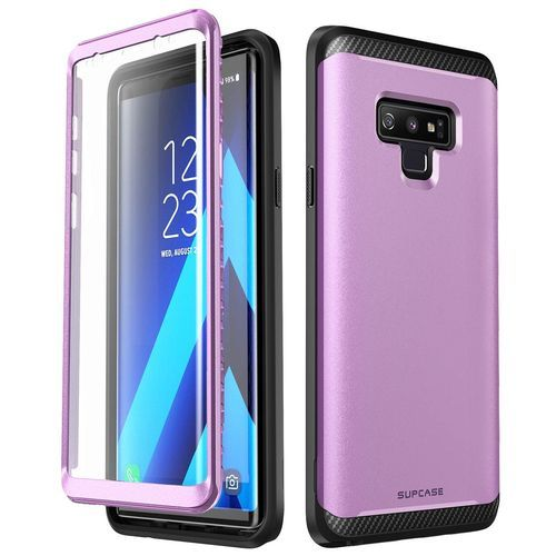 sneakers for cheap 3979b dccf2 UB Neo Series Full-Body Protective Dual Layer Armor Cover With Built-in  Screen Protector For Samsung Galaxy Note 9 (Purple)