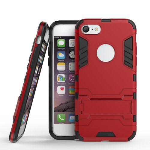 release date 2c45d ab3ce Phone Case For IPhone 7 /iPhone 8,Iron Hard PC Man Armor Shield Case,Hybrid  Silicone +TPU Cover Case For IPhone 7 /iPhone 8