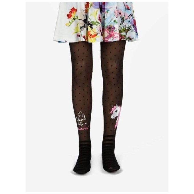 2376398a9f646 Sale on Girls Unicorn Tights - Black | Jumia Egypt