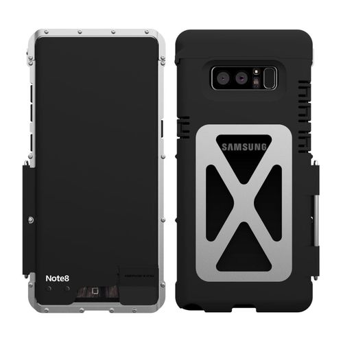 Generic R-Just Armor King Aluminum Metal Stand Shockproof Protection Phone  Cover Case For Galaxy Note 8 210769 Color-2 e15af2683d7d