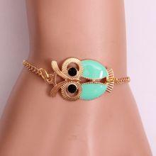 f66e48d1f88c8 Xiuxingzi Fashion Women Lovely Owl Jewelry Accessories Friendship Charm  Bracelets Gift LG