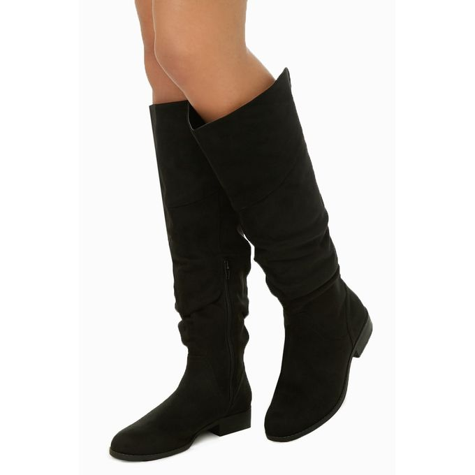9127a55d2ecc5 Order Slouchy Faux Suede Boots at Best Price - Sale on Slouchy Faux ...