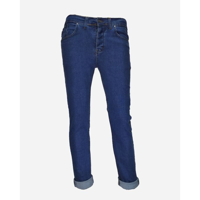 893808d7d بنطلون جينز ازرق ساده للرجال - Jumia مصر