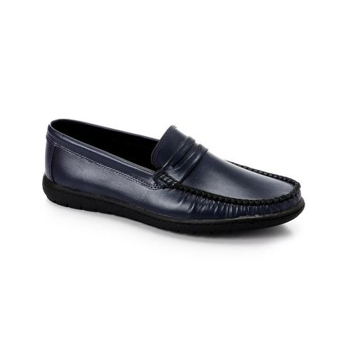 Casual Slip On Men Shoes - Navy