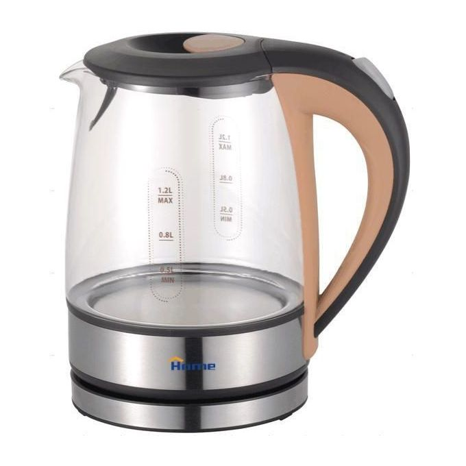 SS231 Glass Kettle - 1.2 L