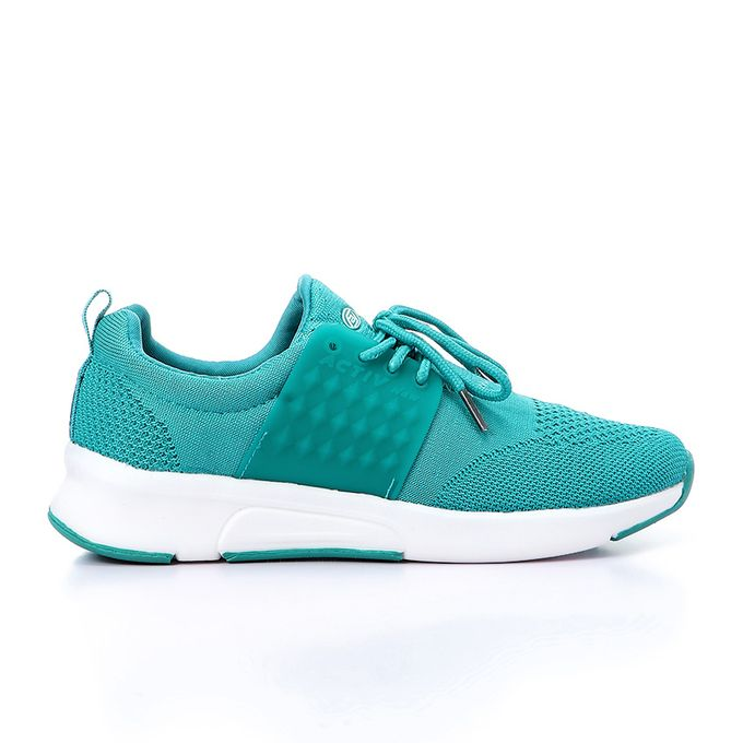 27aa1c7d963f6 Cool Lace Up Casual Sneakers - Teal Green