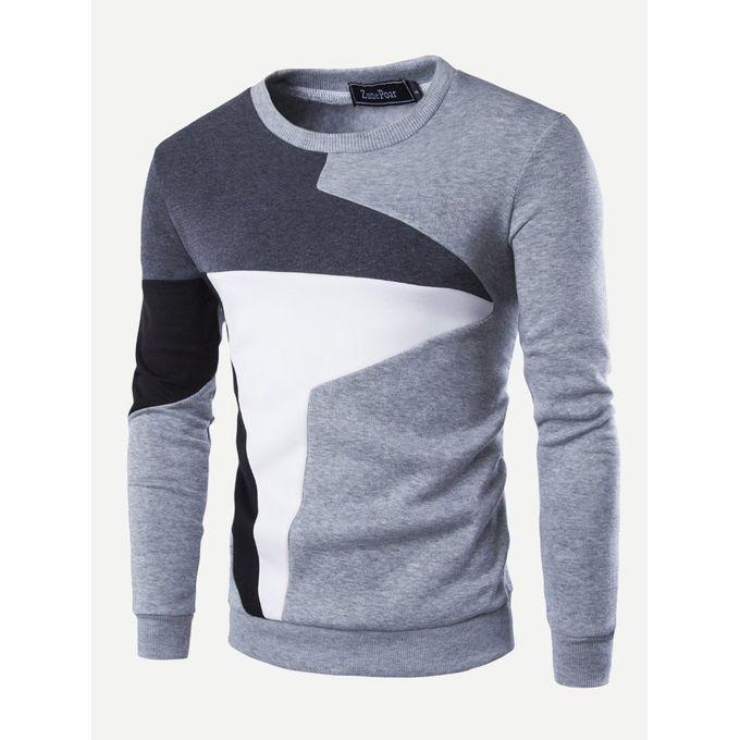 759f7ad6d4 Jumia Anniversary Deal! Sale on Men Color Block Sweatshirt | Jumia Egypt