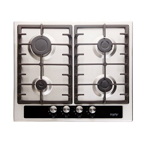 Stainless Steel Built In Hob - 4 Burners - Full Safety