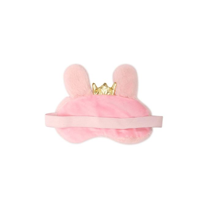 Faux Fur Bunny Sleep Mask