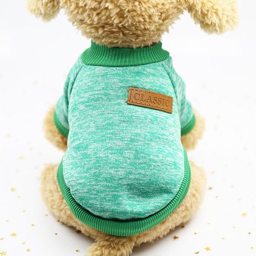 f9f536b72 Generic Pet Dog Clothes For Small Dogs Winter Warm Coat Sweater Puppy  Chihuahua Cheap Clothing For Dog Roupa Para Cachorro-green