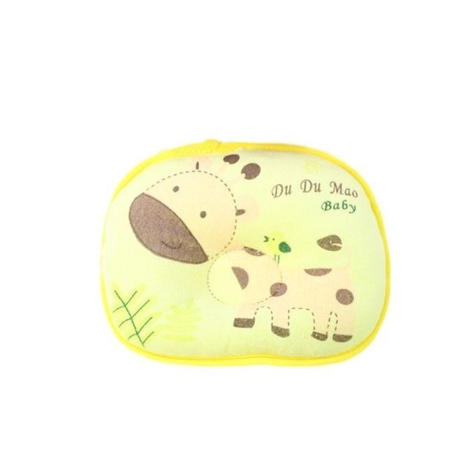 New Cute Giraffe Soft Cotton Baby Anti Flat Head Support Infant Pillow Love Nest –  مصر