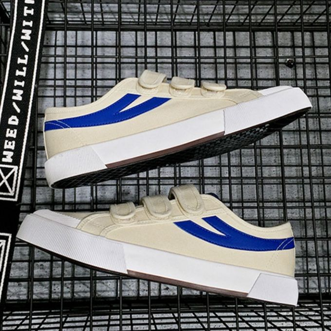 3da33cb0d Men's New Spring Korean Casual Canvas Sports Shoes-Blue - Jumia مصر