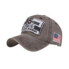 92f9ea1a60ca0 Unisex Summer Baseball Cap Washed Cotton Hat Letters Sport Hats Casual Cap