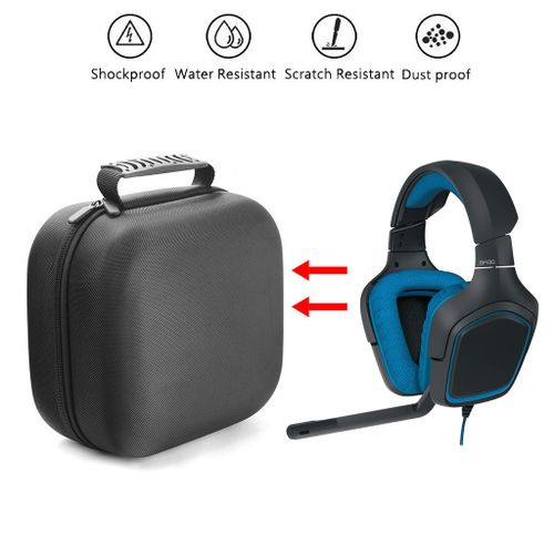 82eec8e4779 Generic Hiamok Travel Bag Portable Case For Logitech G430 7.1 DTS Headphone  Gaming Headset