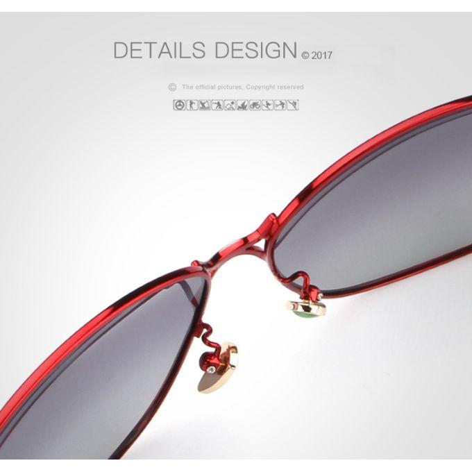 9441a24c95cf ... Hot Female Polarized Sunglasses Women Luxury Alloy Frame Eyewear Retro  Lady Oculos De Sol With Case
