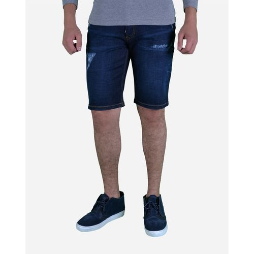 Casual Jeans Short - Navy