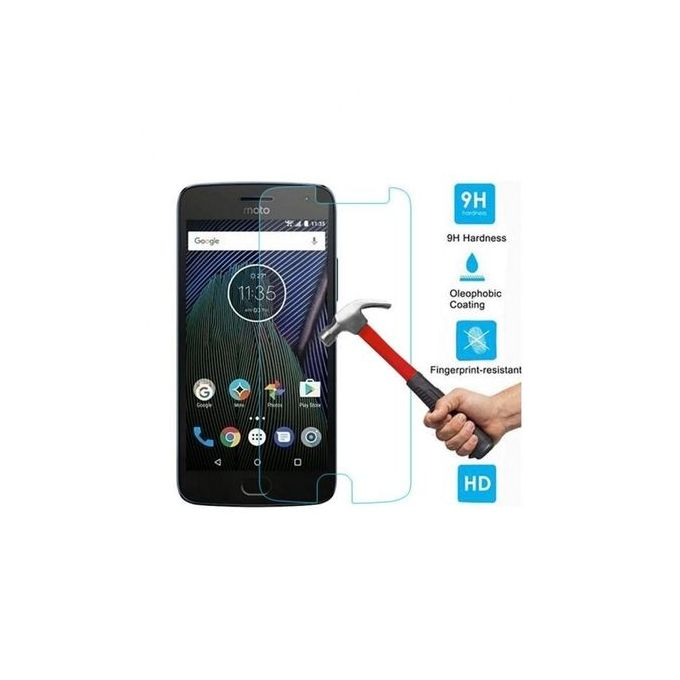 Real Glass Screen Protector for Motorola Moto G5 Plus - Clear