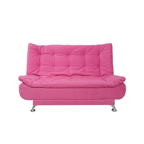 0010 Velvet Sofa Bed 3 Seaters Pink