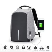 dfc260356 Anti-theft Travel Labtop Backpack Bag - Waterproof - USB Charging -  Black/Gray